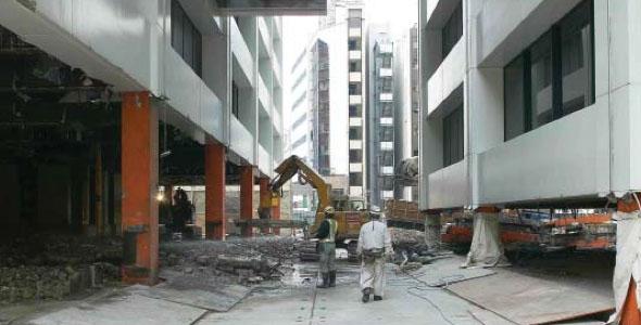 Demolizione sede Kajima