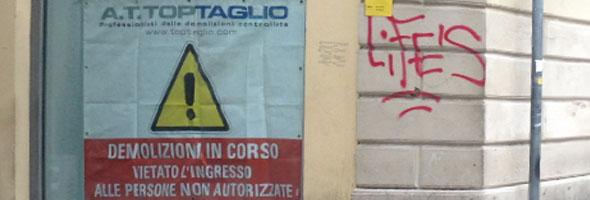 demolizione A.T. Toptaglio