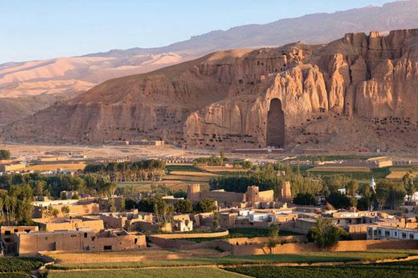 Bamiyan panorama