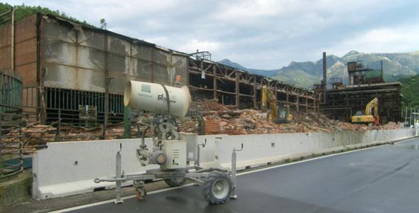 lavori demolizione Stoppani Cogoledo